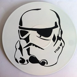 Clone trooper. Disco de vinilo decorativo