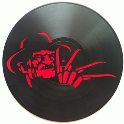 Freddy krueger. Disco de vinilo decorativo