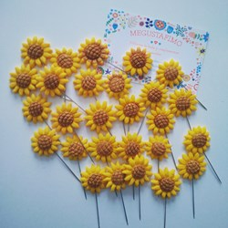 Alfileres de boda Girasoles
