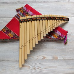 Panflute of 22 Pipes - Bamboo Flute