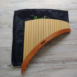 Panflute of 24 Pipes - Tunable Flute