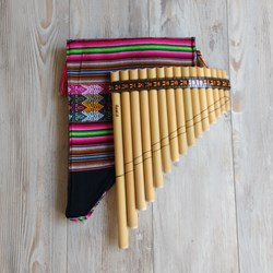 Panflute 15 Pipes - Bamboo Flute