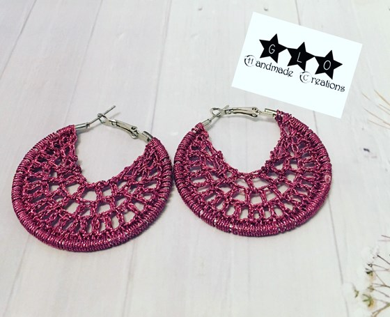 Crochet earrings - Orecchini uncinetto