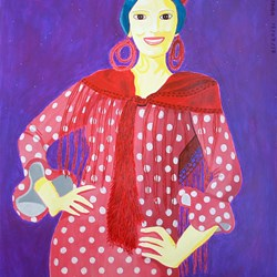 Flamenca-Spanish woman