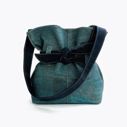 Blue Navy Bow Bag