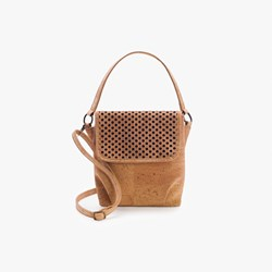 Beige Pattern Crossbody Bag