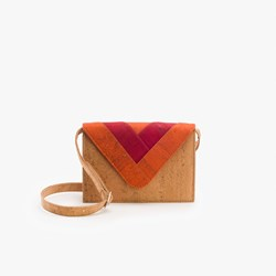 Orange Triangle Crossbody Bag