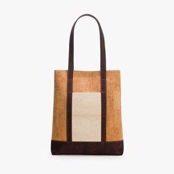 Natural Brown Tote Bag