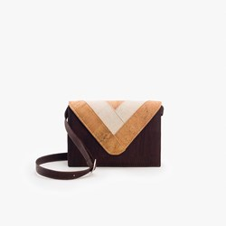 Dark Triangle Crossbody Bag