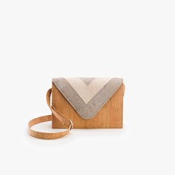 Light Triangle Crossbody Bag