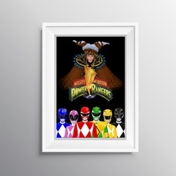POSTER - POWER RANGERS