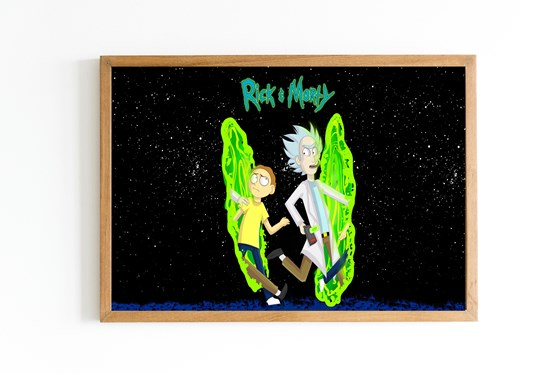 POSTER - RICK Y MORTY