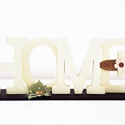 Letras decorativas Home