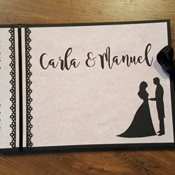 Libro de firmas de Boda. Book of wedding signatures