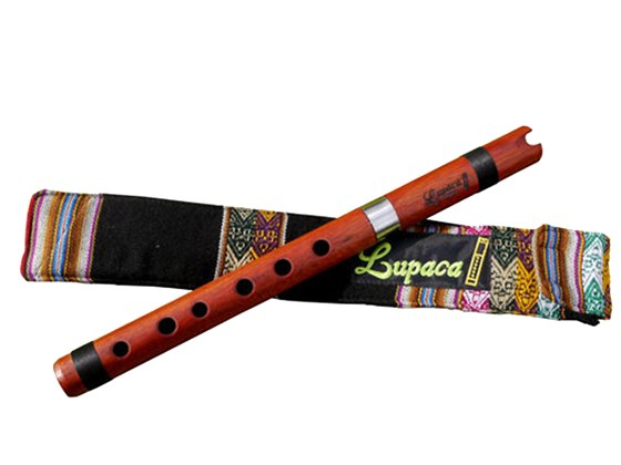 Professional Lupaca Bloodwood Quena in G Tunable