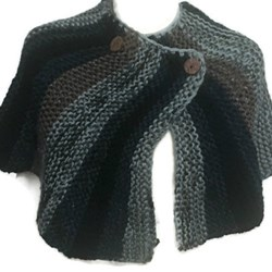 Brianna's Shawl Cape Shaulette Inspired In Brianna's from Outlander Knitting Pattern