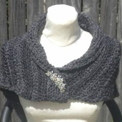 Claire's Shaulette Cape Sassenach Shawl Crochet Pattern Outlander Inspired