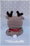 Rudolph Baby - Hand Made Crochet