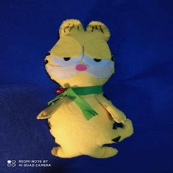 Peluche Garfield de fieltro