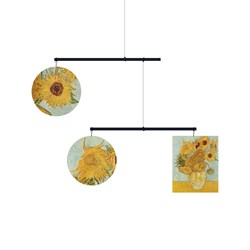 Mobil decorativo Jarrón Con Doce Girasoles - Vincent Willem Van Gogh (Hanging Mobile)