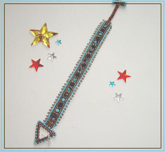 Pulsera delicas chocolate