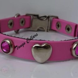 Collar Clip Rosa Mode Corazon