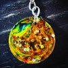 100% Exclusive REVERSIBLE Hand Made KEYRING
