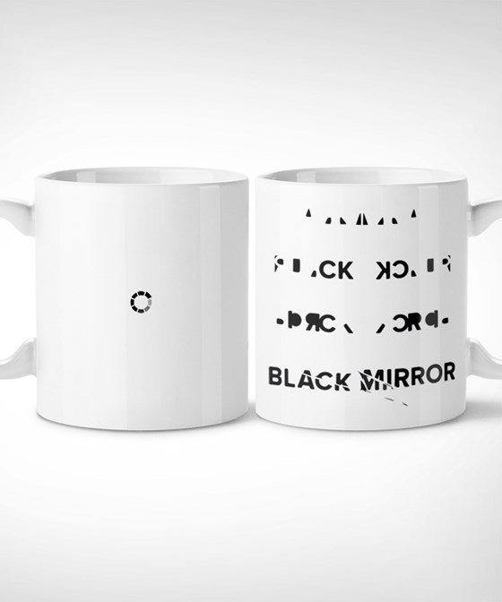 Black mirror - Taza Mug // series, culto, original, regalo, tv, friki, tv shows, replica