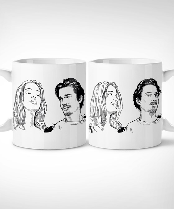 Before Sunrise > Come here - Taza Mug // jesse, celine, linklater, antes del amanecer, regalo, gifts