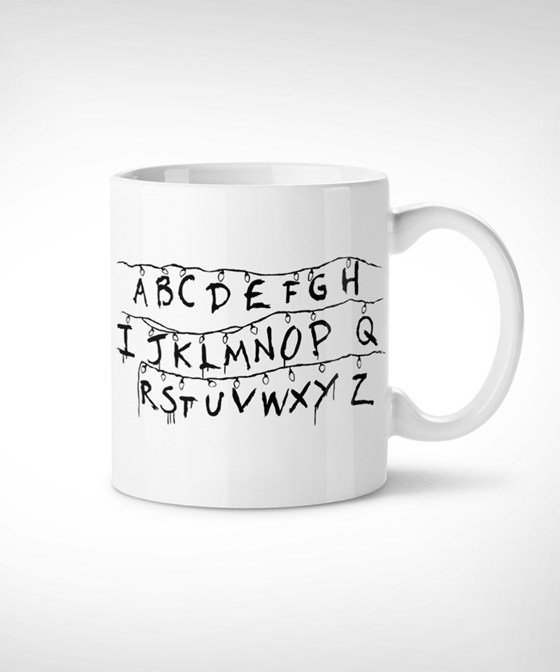 Stranger things - Taza Mug // series, culto, original, regalo, tv, friki, tv shows, replica
