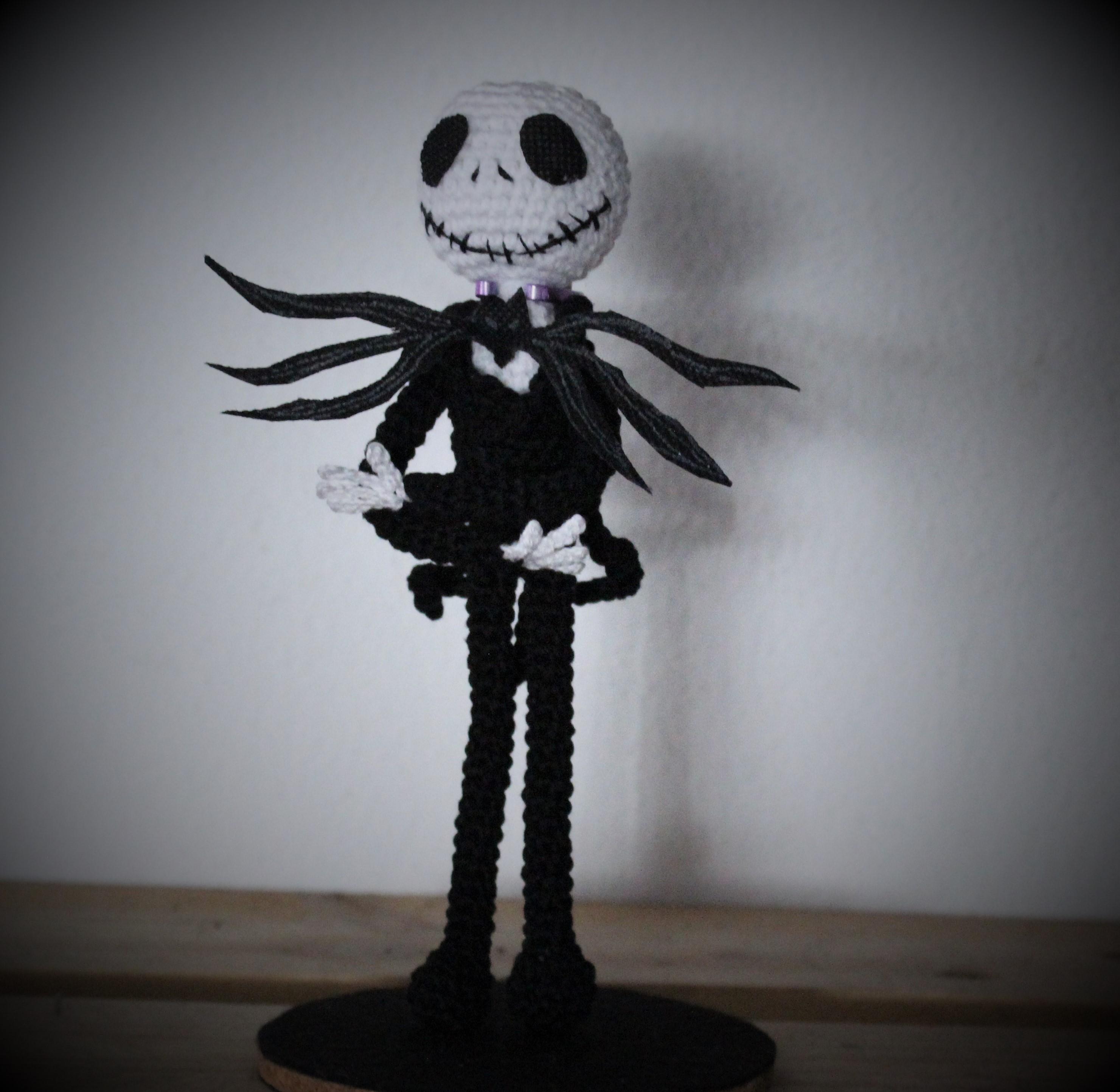 Jack Skellington Y Sally Amigurumi Crochet - YouTube | 2886x2961