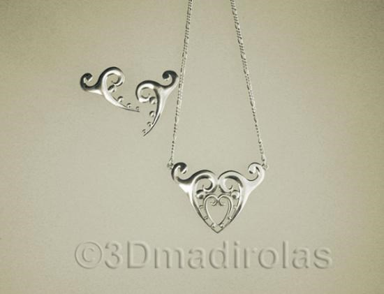 Colgante De Plata Core Tatoo