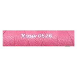 5/10/15 mts de hilo encerado Linhasita Rosa Chicle Ref.0626 Ideal Macramé/Waxed thread Linhasita