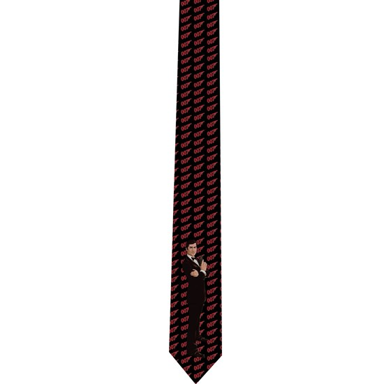 007 James Bond tie - necktie - corbata - model 2
