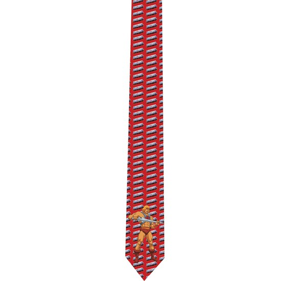 He-Man tie - necktie - corbata - Masters of the Universe - model 4