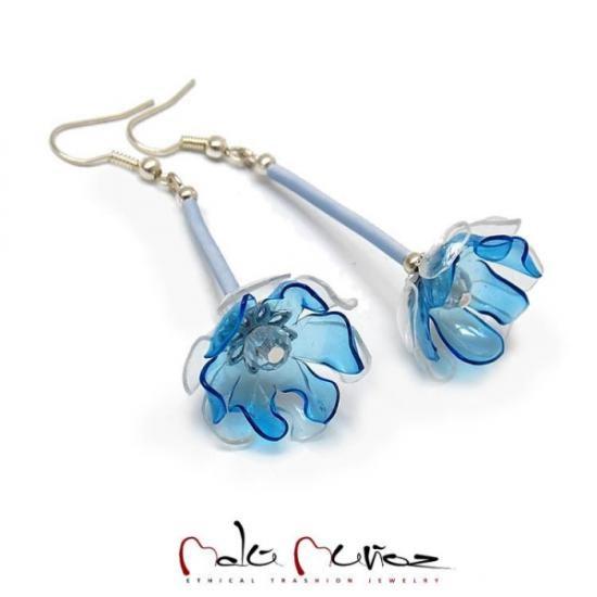 c7cd923e366e Pendientes Abril Azul. - Artesanum