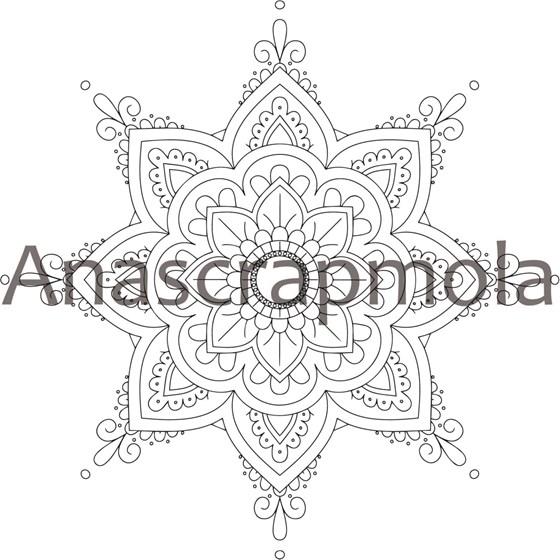 Mandala Para Colorear Adultos 5 Artesanum