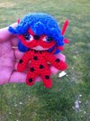 Lady Bug Amigurumi