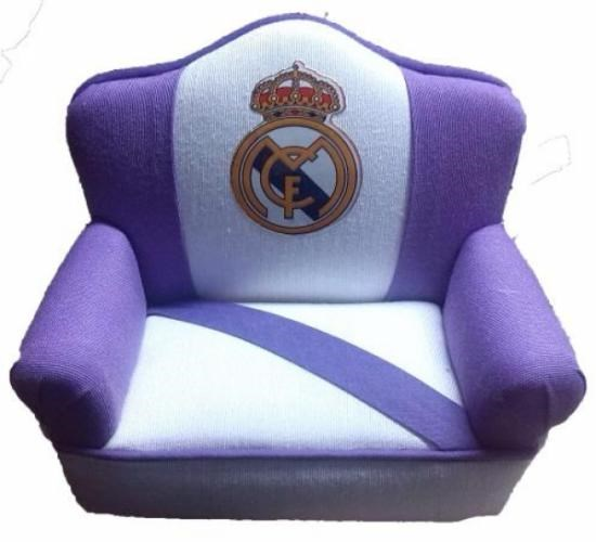 Sofa Modelo Adorno Del Real Madrid