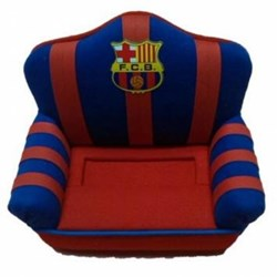 Sofa Porta Movil Con Escudo Del Barcelona