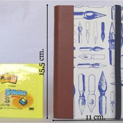 Cuaderno Mediano Con Elástico / Medium Size Journal With Rubber Band